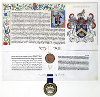 The Grant of Arms